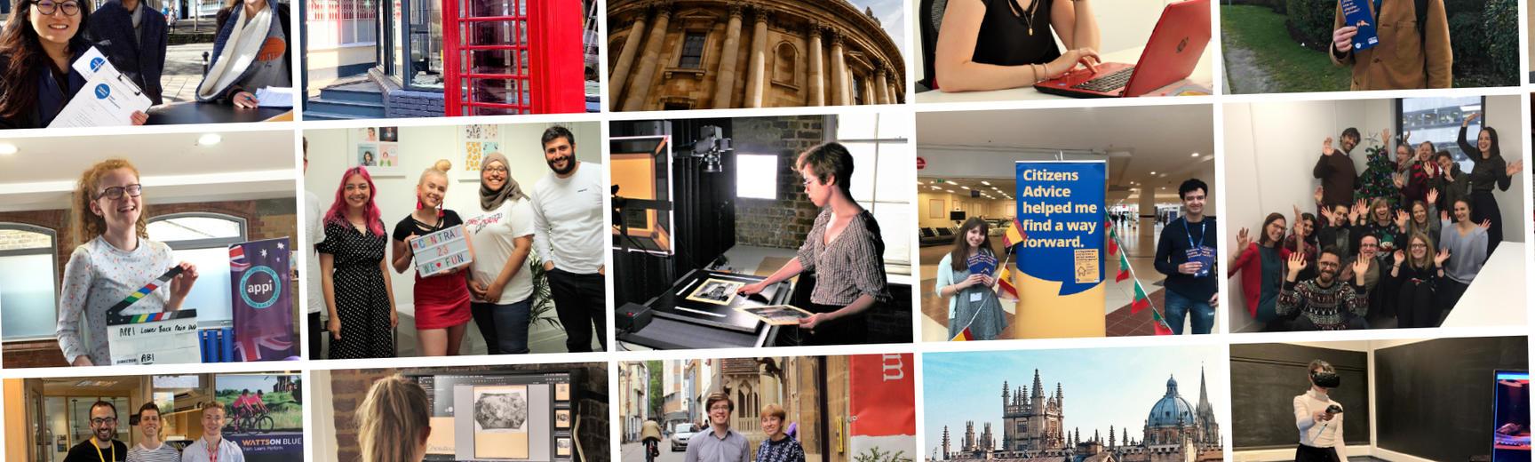 careers service internships student photos banner