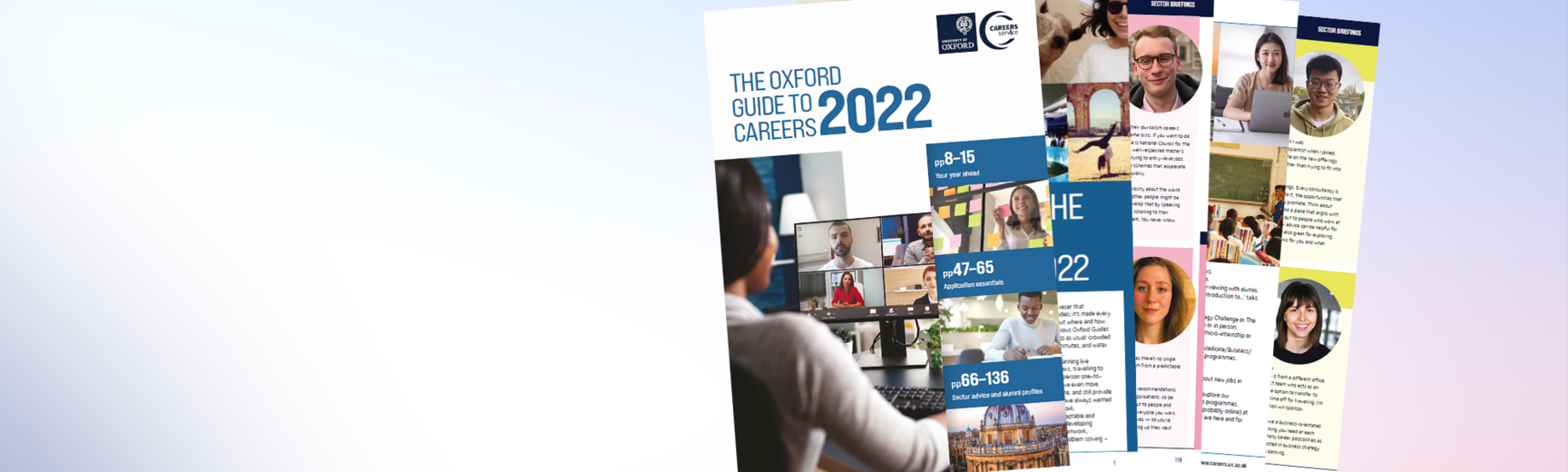 Oxford Guide to Careers 2022 homepage banner