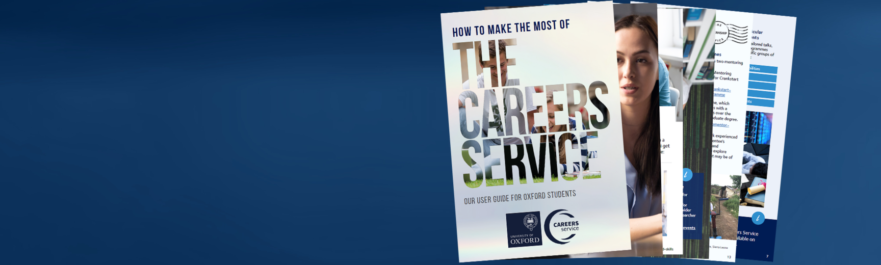 make the most careers service background