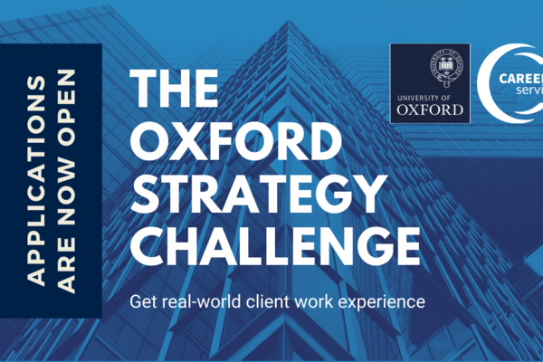Applications are open for the Oxford Strategy Challenge