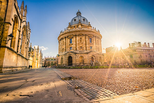 Oxford Radcliffe Camera in light