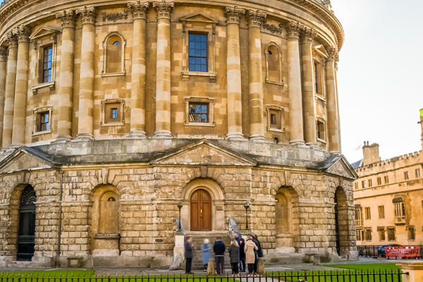 Oxford Radcliffe Camera low light