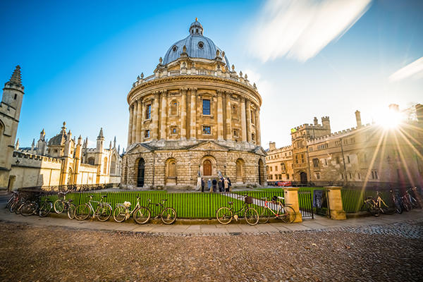Oxford Radcliffe Camera in low light