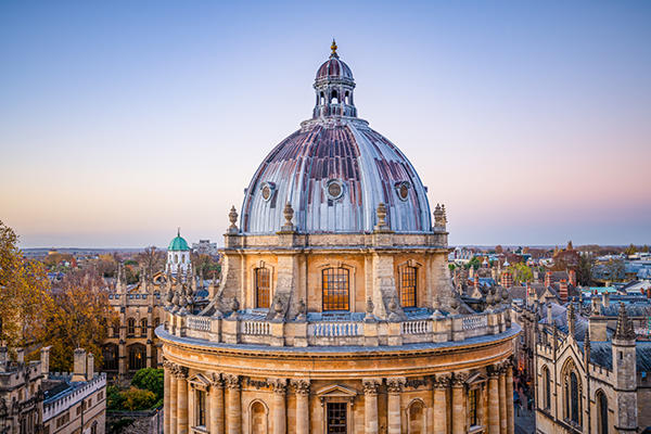 Oxford Radcliffe Camera at sunset