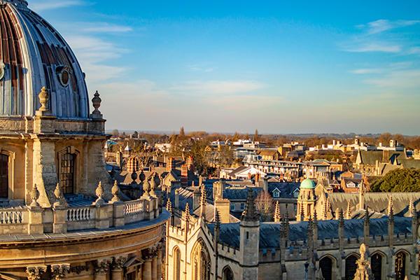Oxford Radcliffe Camera skyline