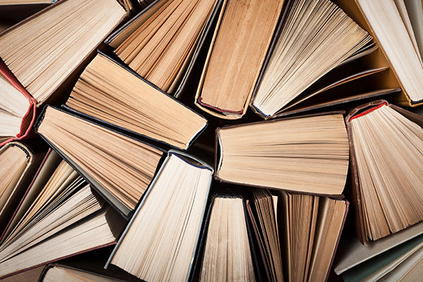 Academia and higher education listing image showing a selection of books