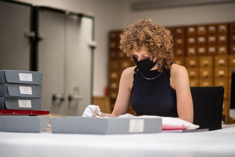 Rosie Croysdale, St. Antony's College, MSc in Visual, Material and Museum Anthropology. Summer internship with Pitt Rivers Museum in Oxford
