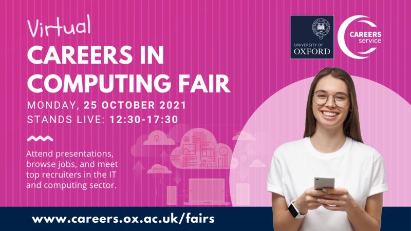 careers in computing fair banner