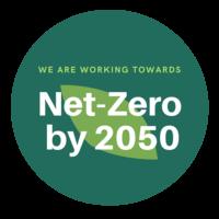 EMPLOYER BADGE: We are working towards net-zero by 2050